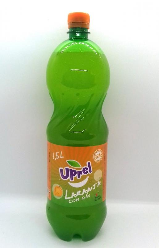 UPREL LARANJA COM GÁS 1,5L