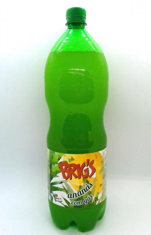 BRIG'S ANANÁS COM GÁS 2L